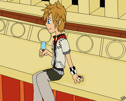 Roxas by sophloulou