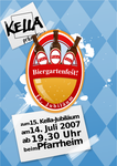 Biergarten - Beer Garden Flyer by MrTentacleguy