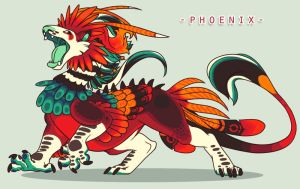 Phoenix by SinCommonStitches
