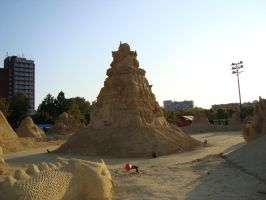 Sand art in burgas 16 by tonev