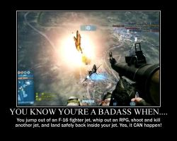 You Know You're a Badass When... (Poster) by XPvtCabooseX