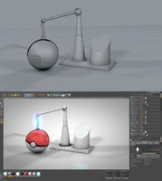 Pokeball Maintenance (WIP) by PixelPandaa