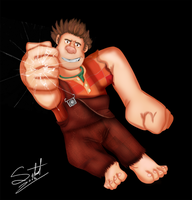 Wreck it Ralph by Silnat