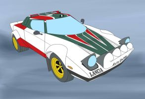 Wheeljack mode car by destallano4