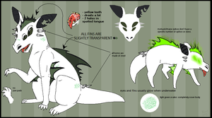 Castaway Reference Sheet by SpunkyRacoon