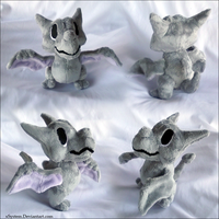 Aerodactly 'Time' Plush by xBrittneyJane