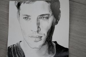 Jensen Ackles by Justaguyintheworld