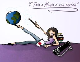 and the whole world is mine to by Felipefr