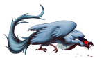 Infected Articuno by ColorofAshes