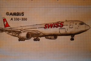 AIRBUS A330-300 Swiss by stachu96