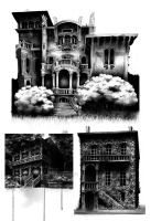 Haunted House by SandraInk
