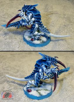 First Tyranid Warrior by Snowfyre