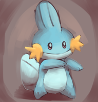 Dancing Mudkip by cartoonboyplz