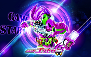 Kamen Rider Ex-Aid Action Gamer Level 2 Wallpaper by malecoc