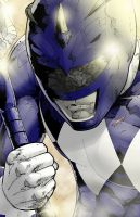 Blue Ranger by diabolicol