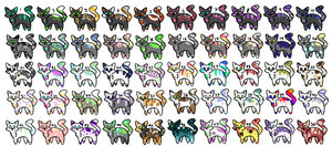 50 Cheap Adopts ||20/50|| by NyanNyanAdopts