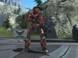 Sarge in Halo Reach by KATTALNUVA
