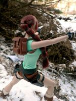 TRI:Custom Tonner Lara Croft 3 by Laragwen