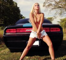 Implied Nude With Challenger by eboorepo