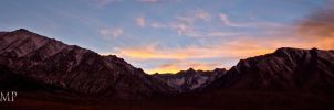 Crowley Lake Mountains by sintar