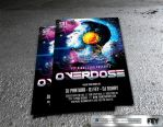 Overdose Party Flyer by feydesignGR
