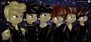 EXO-M by Pulimcartoon