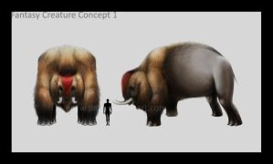 Fantasy Creature Concept 1 by palp