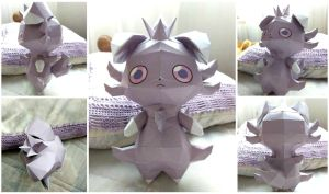 Espurr Papercraft by goncalocamboa