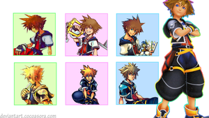 Kingdom Hearts Sora by CocoaSora