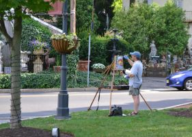 Statues and a Painter by mtsofan
