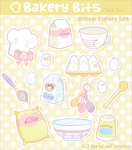 Vector - Bakery Bits 1 by firstfear