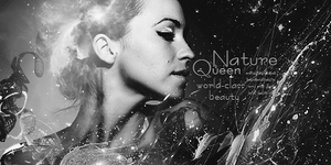 Nature Queen B/W by Saint-Angerr