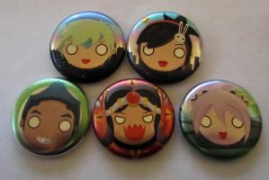 Acetate buttons by GoshaDole