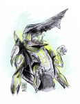 Knifehead by IndecisiveDevice