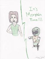 Project 3 Green Ranger Morph by Jred20