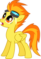 Shocked Suitless Spitfire by ChainChomp2