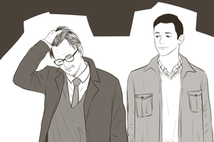 TDKR : Gordon, Blake by ne2nyeon