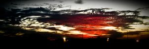 sunset over minnesota by Kiera-moonlight-eyes