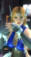 DEAD OR ALIVE 5 Last Round Tina61 by aponyan