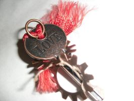 Faetish Charm: Lover's Knot Red by earthalchemyst