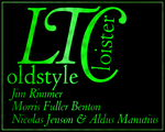 LTC Cloister, dayglow green by chemoelectric