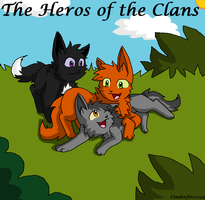 The Heros of Warriors by Cinderfire1234