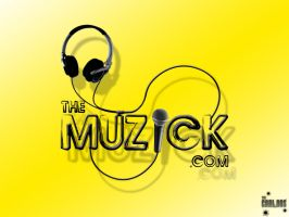 The Muzick Logo Concept by TheCarloos
