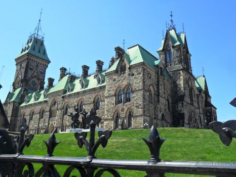 Canadian Parliament(from a different angle) by alphaboy202