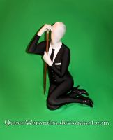 Slender Woman with cane stock V by QueenWerandra