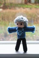 Reverse the Polarity 2.0 - Third Doctor Plushie by gnasler