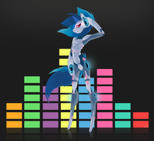 Vinyl Scratch 2.0 by StickFigureQueen