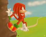 One Hour Sonic: Knuckles by Blue-Chica