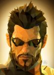 Adam Jensen - Deux Ex : Human Revolution by DigiScal