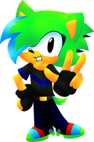 Classic Zonic by cuteygirl226
